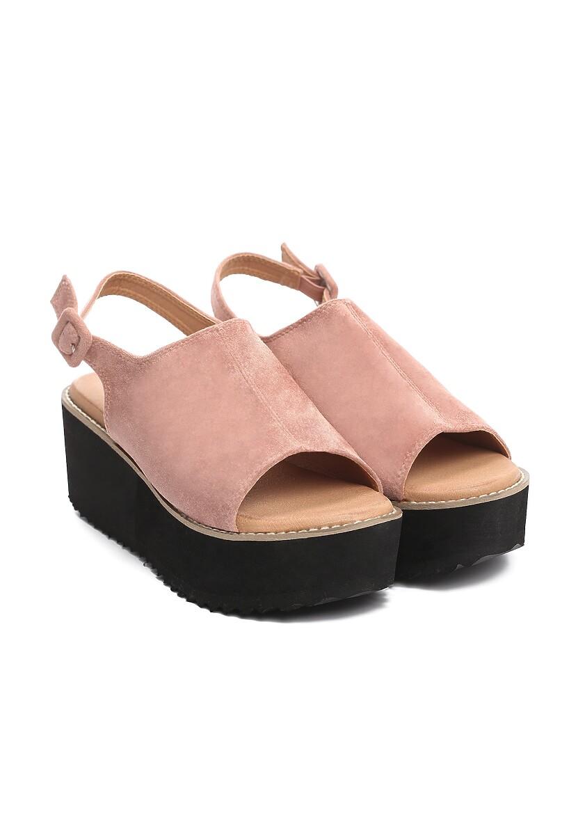 Różowe Sandały Picturesqueness