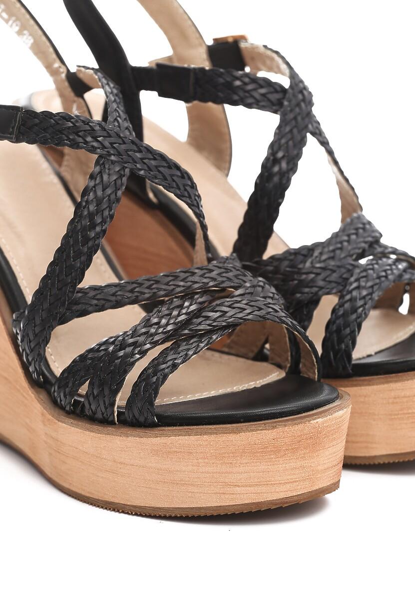 Czarne Sandały Resplendency