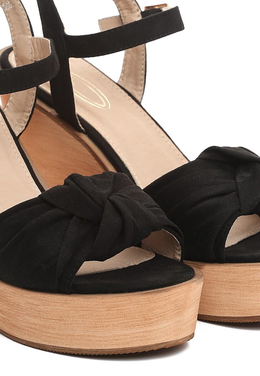 Czarne Sandały Musicians