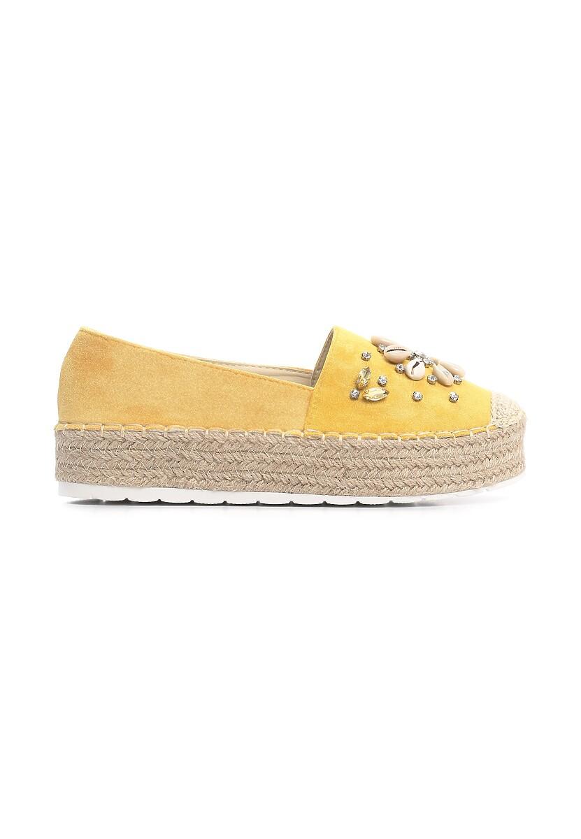 Żółte Espadryle Fiduciary