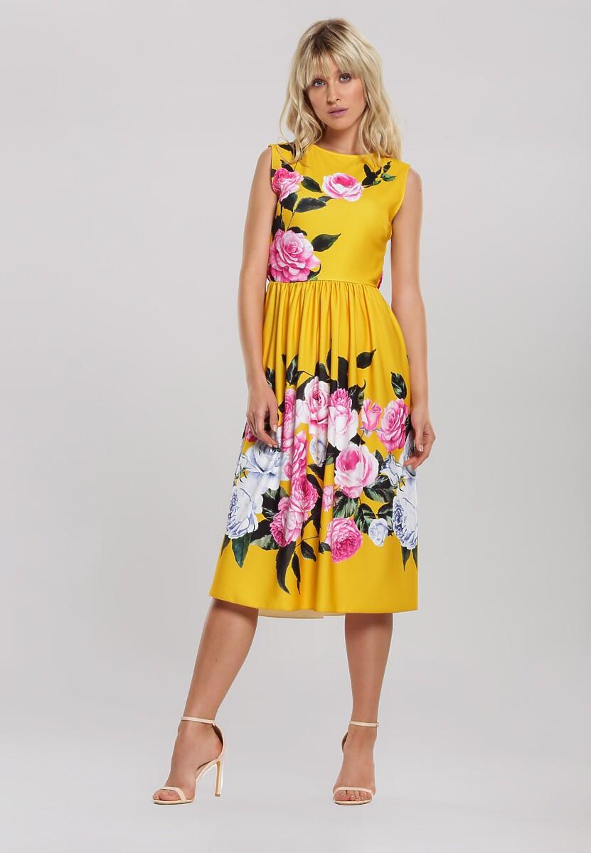 Żółta Sukienka Postmodernism