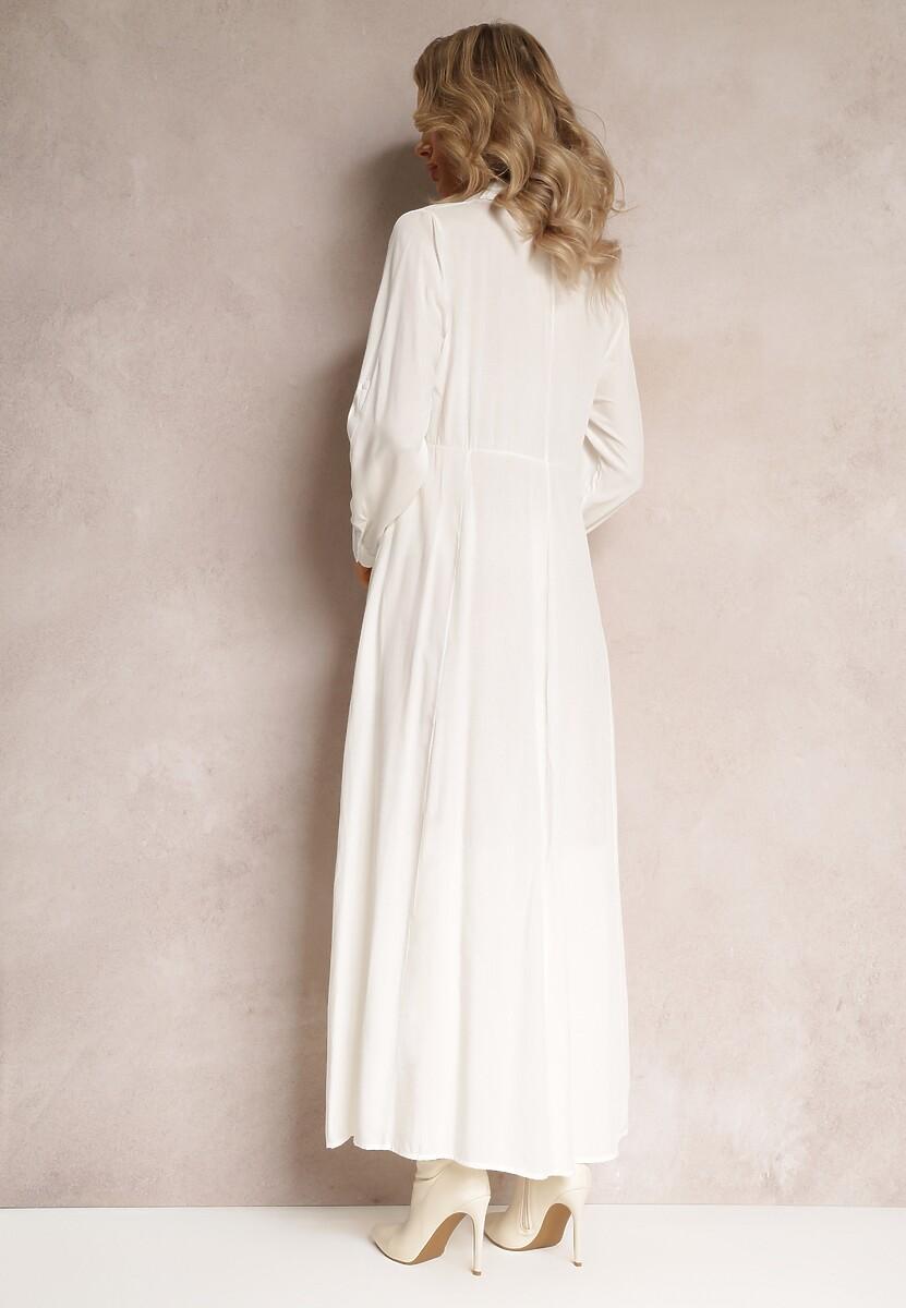 Biała Sukienka Samba