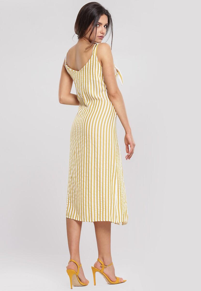 Żółta Sukienka Dimple