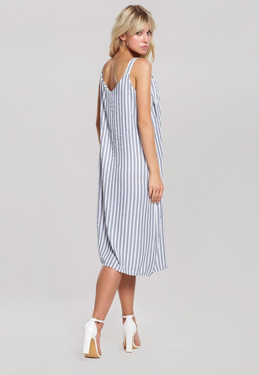 Niebieska Sukienka Dimple