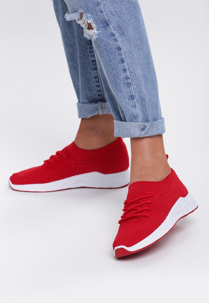Czerwone Buty Sportowe Smiler