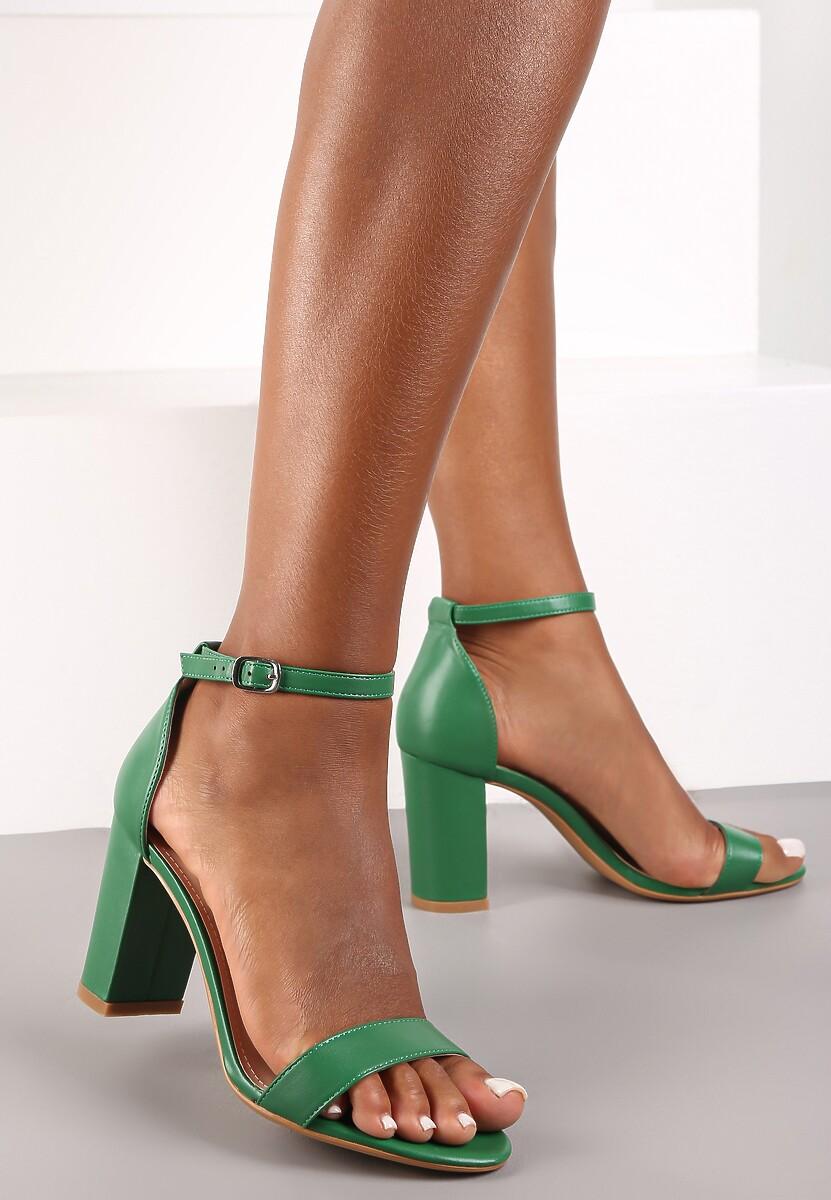Zielone Sandały Bargaining