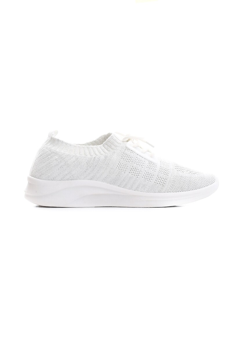 Białe Buty Sportowe Concession