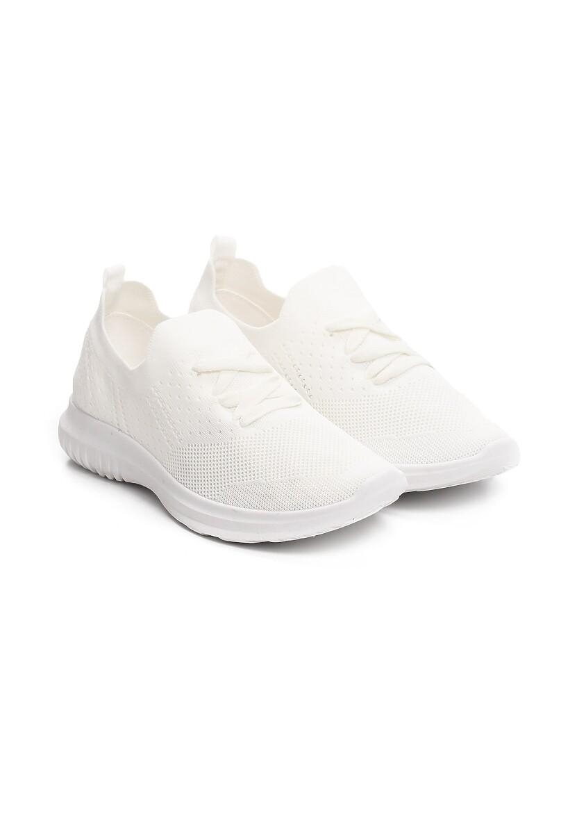 Białe Buty Sportowe Both Ends