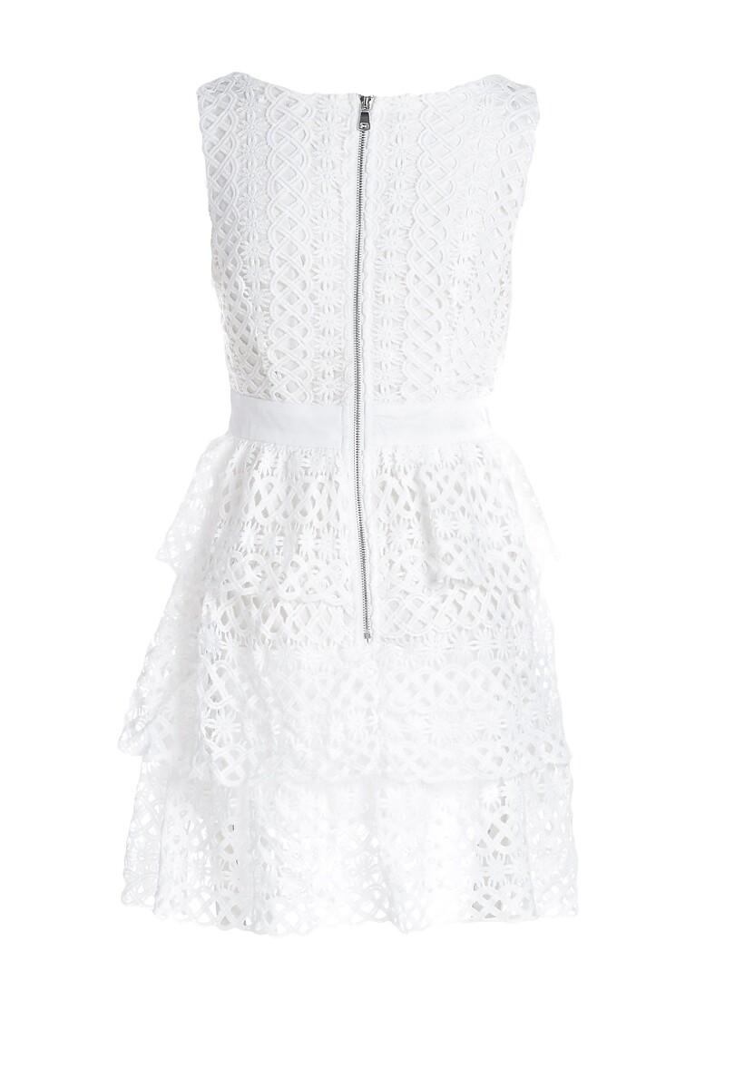 Biała Sukienka Grinning