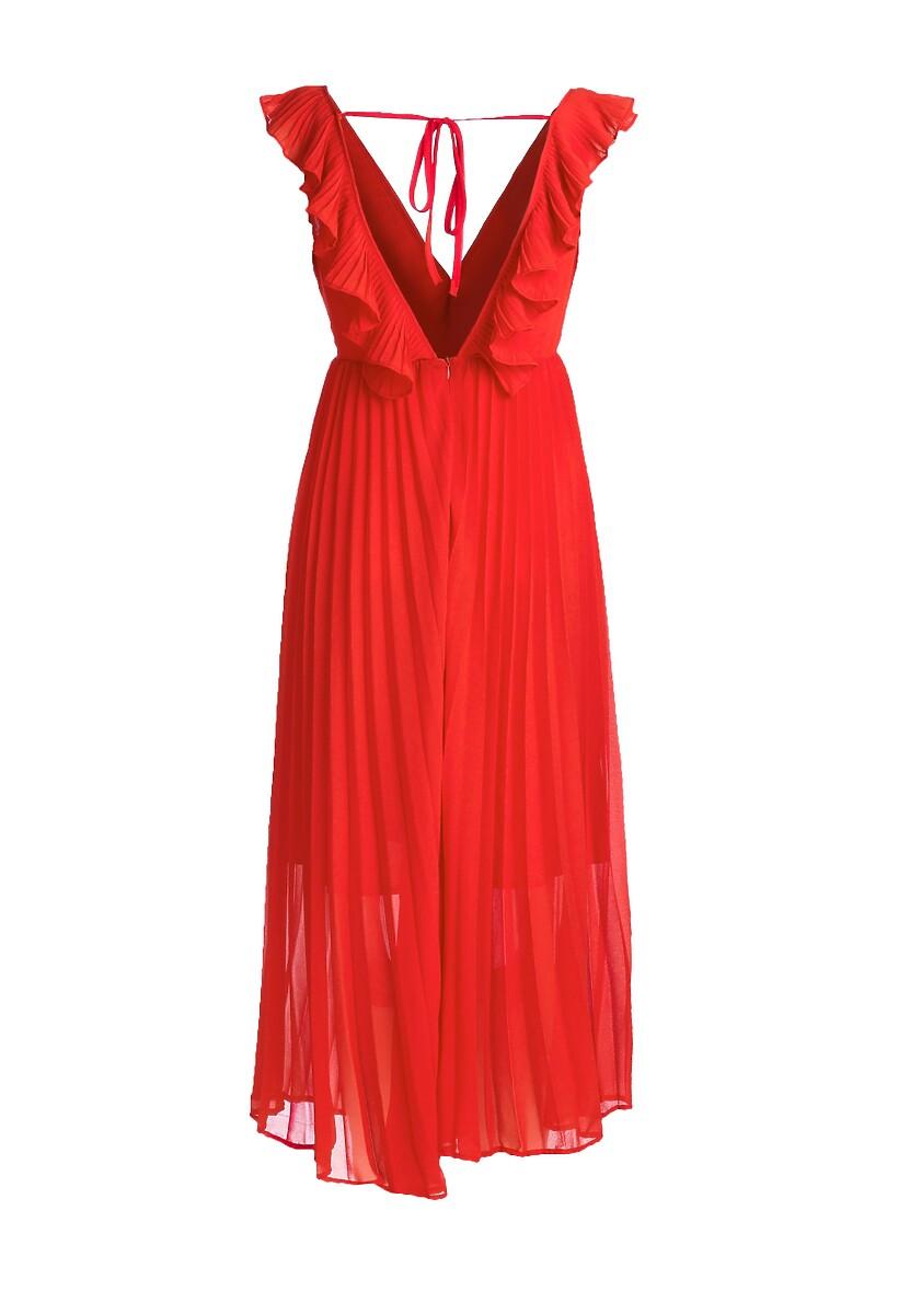 Czerwona Sukienka Pogoer