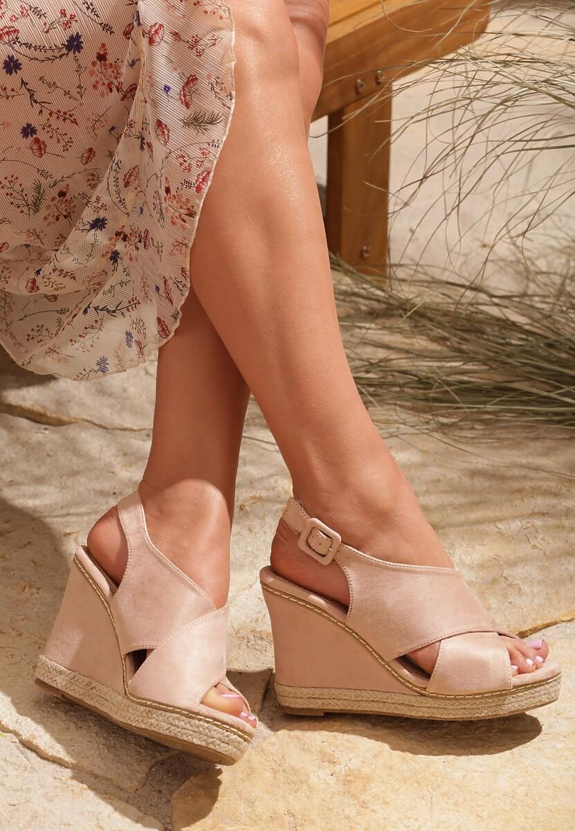 Beżowe Sandały Young Angel