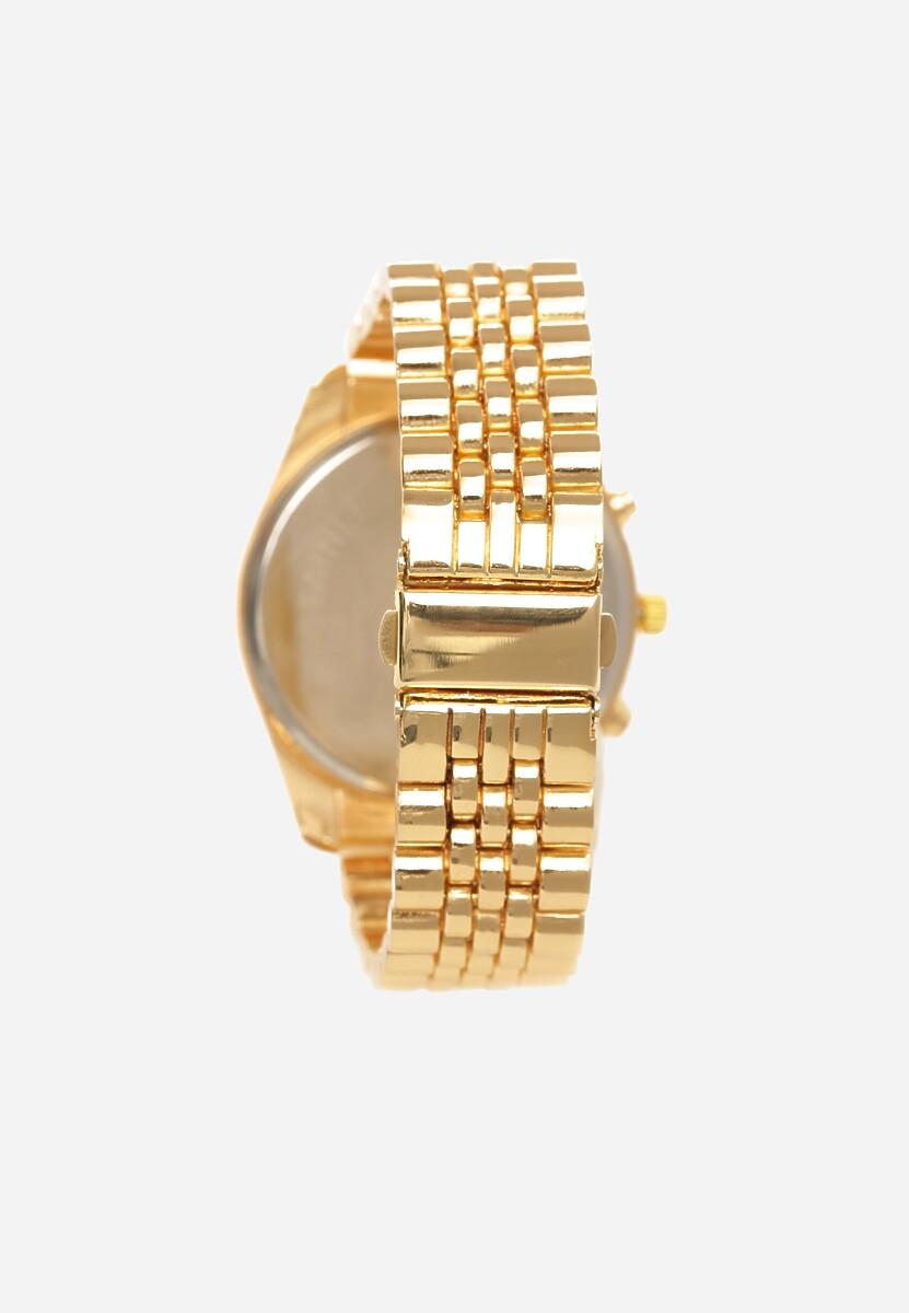 Złoto-Biały Zegarek Greeting