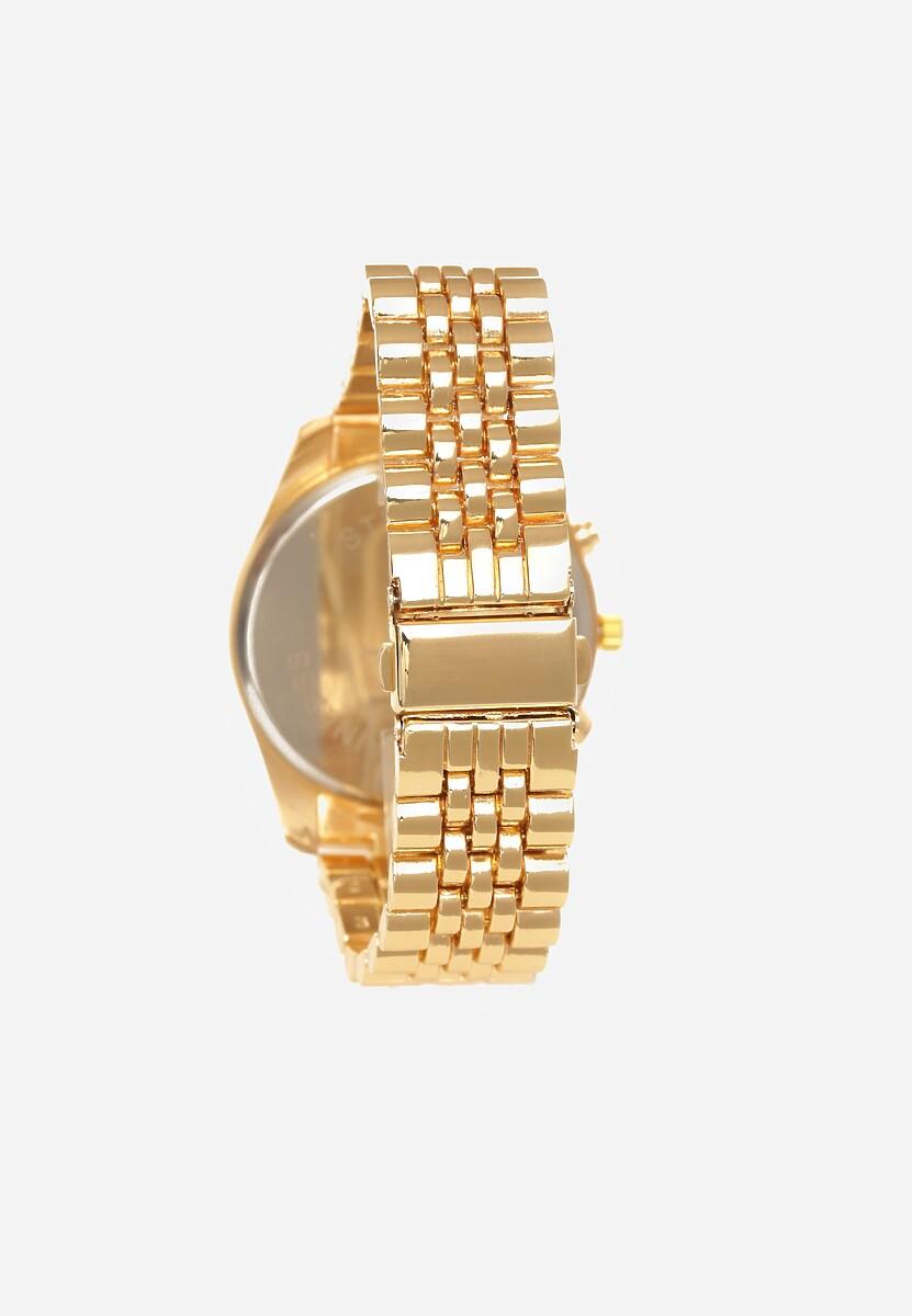 Złoto-Czarny Zegarek Greeting