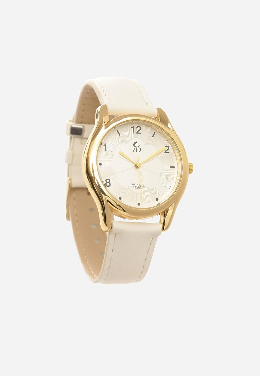 Biały Zegarek Leer