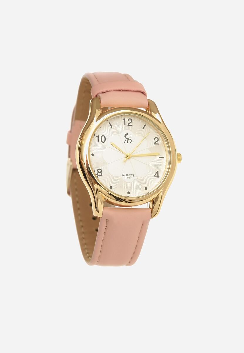 Różowy Zegarek Leer