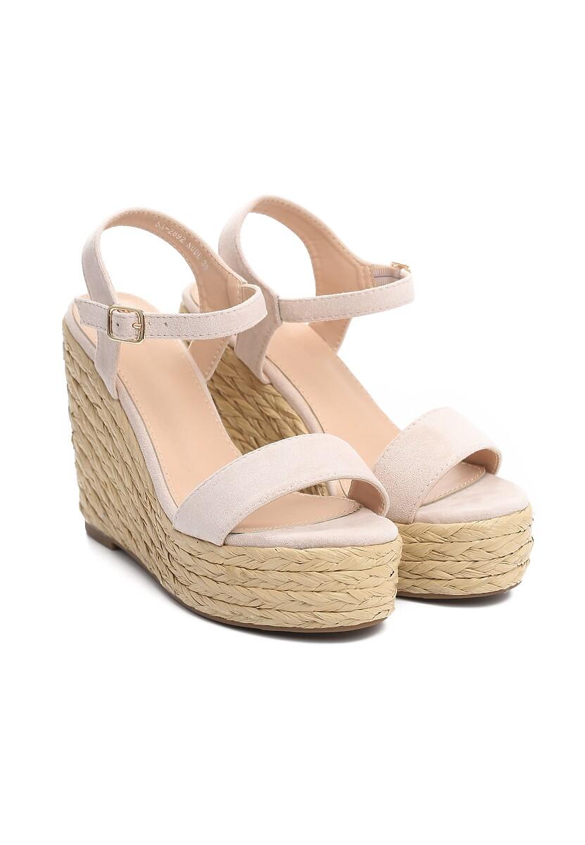 Beżowe Sandały Endorsing