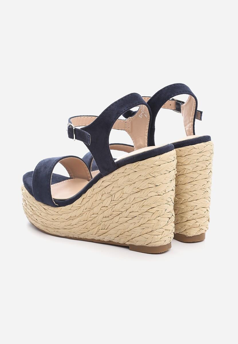 Niebieskie Sandały Endorsing