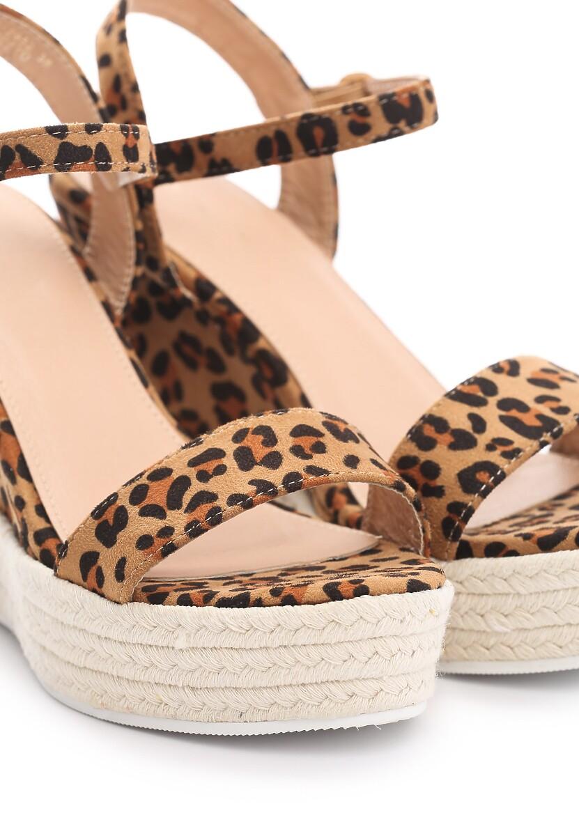 Panterkowe Sandały Prettiest Girl