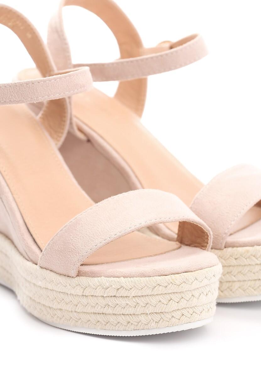 Beżowe Sandały Prettiest Girl