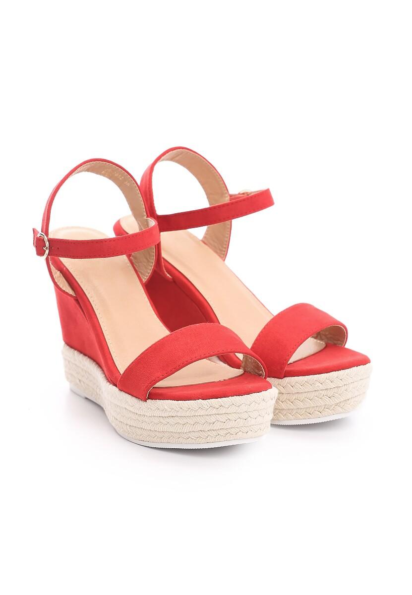 Czerwone Sandały Prettiest Girl