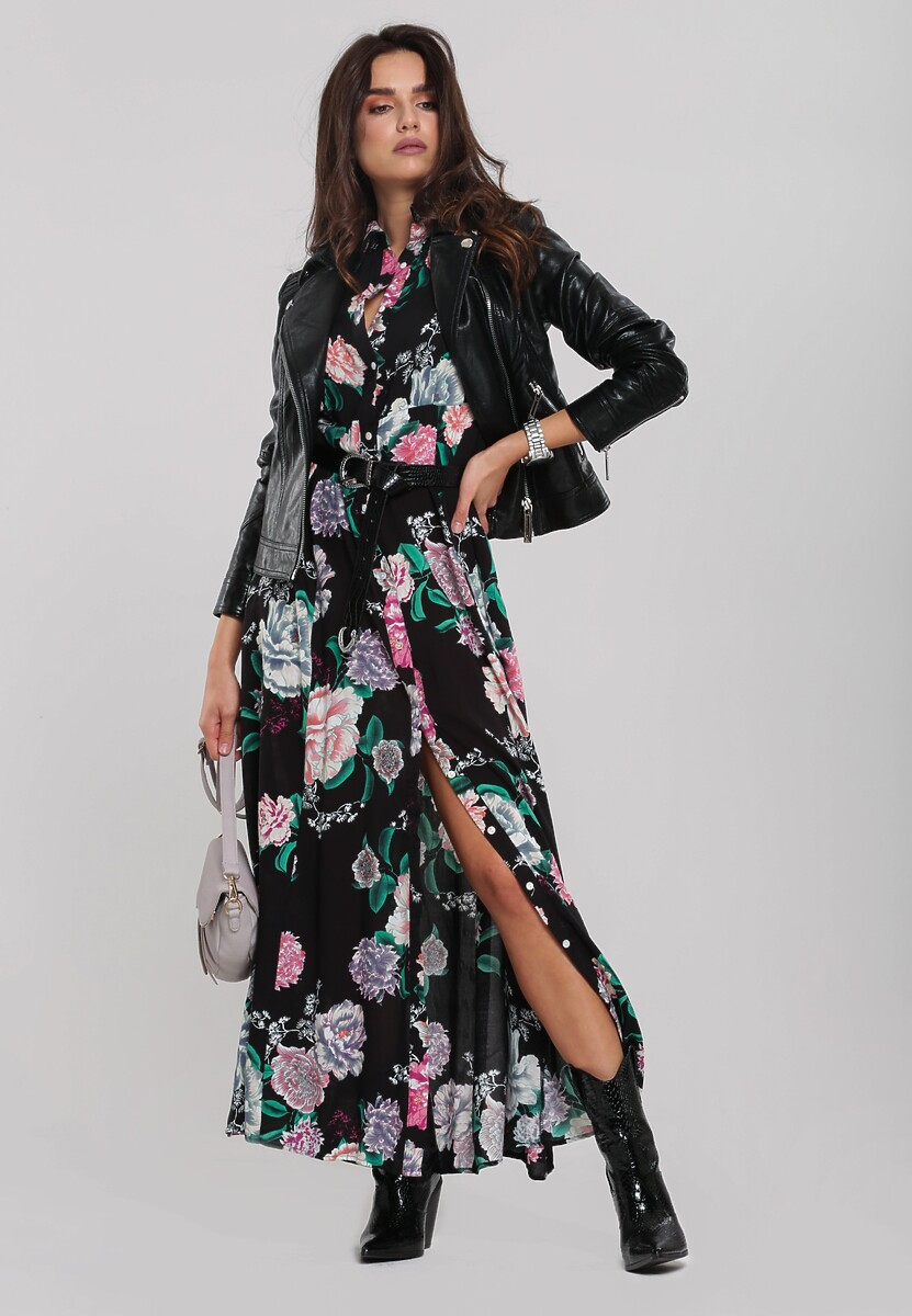 Czarna Sukienka Cakewalk