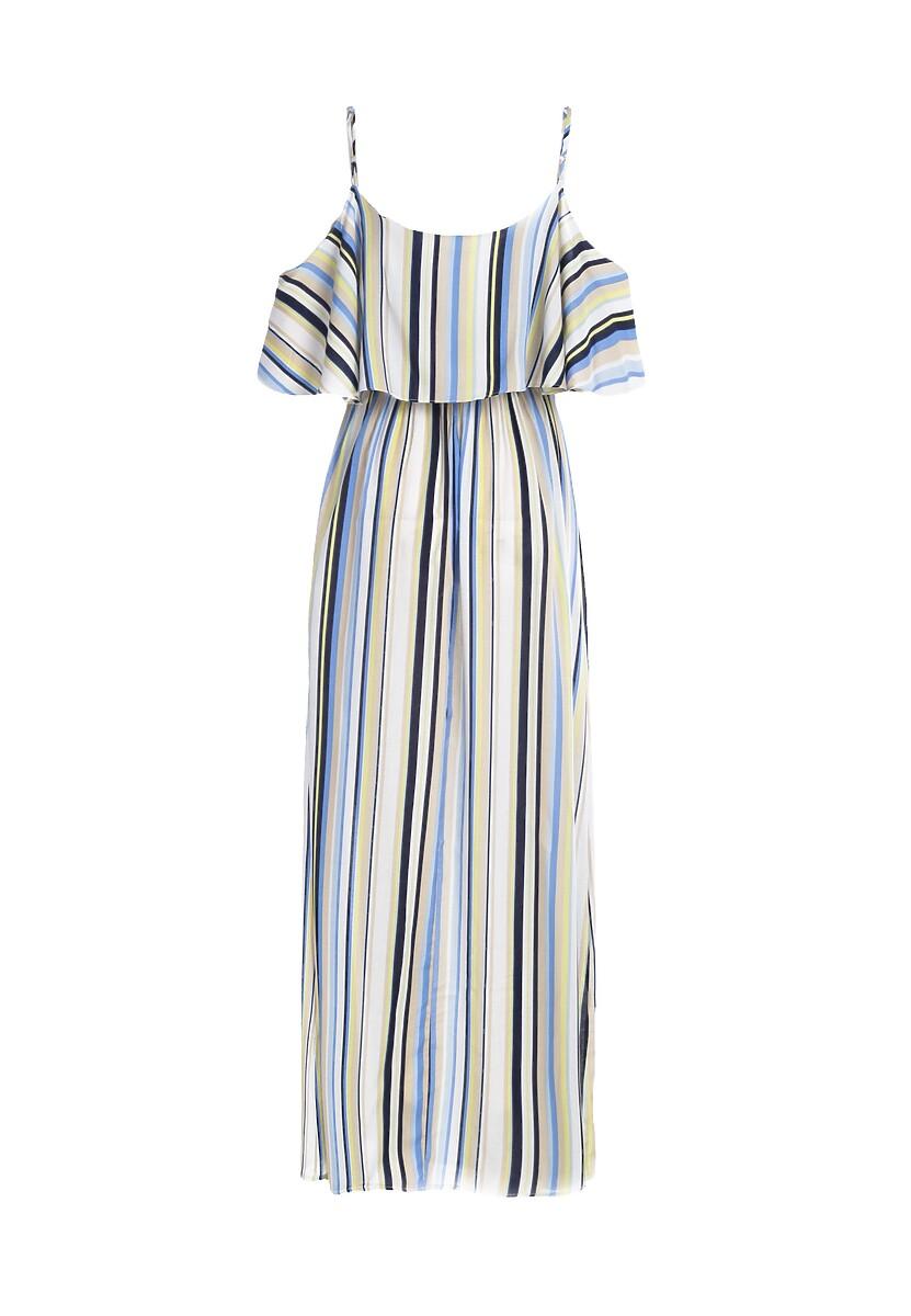 Niebieska Sukienka Kozachok