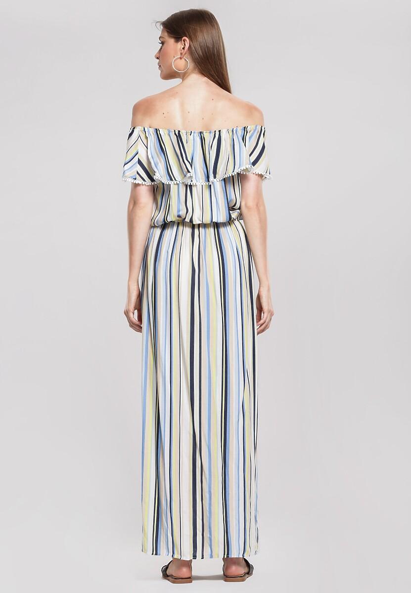 Niebieska Sukienka Lambada