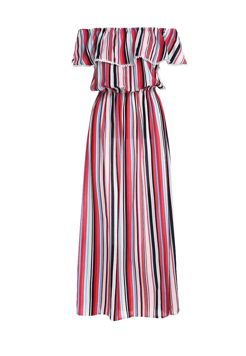 Czerwona Sukienka Lambada