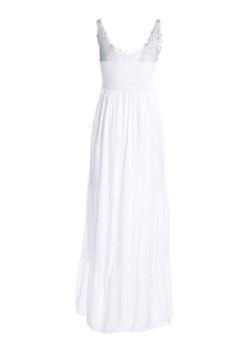 Biała Sukienka Foxtrot