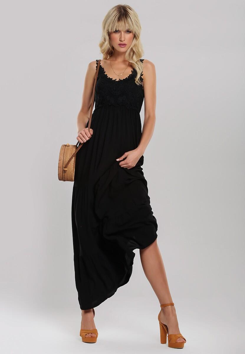 Czarna Sukienka Foxtrot