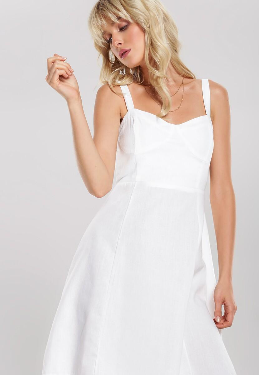 Biała Sukienka Fandango