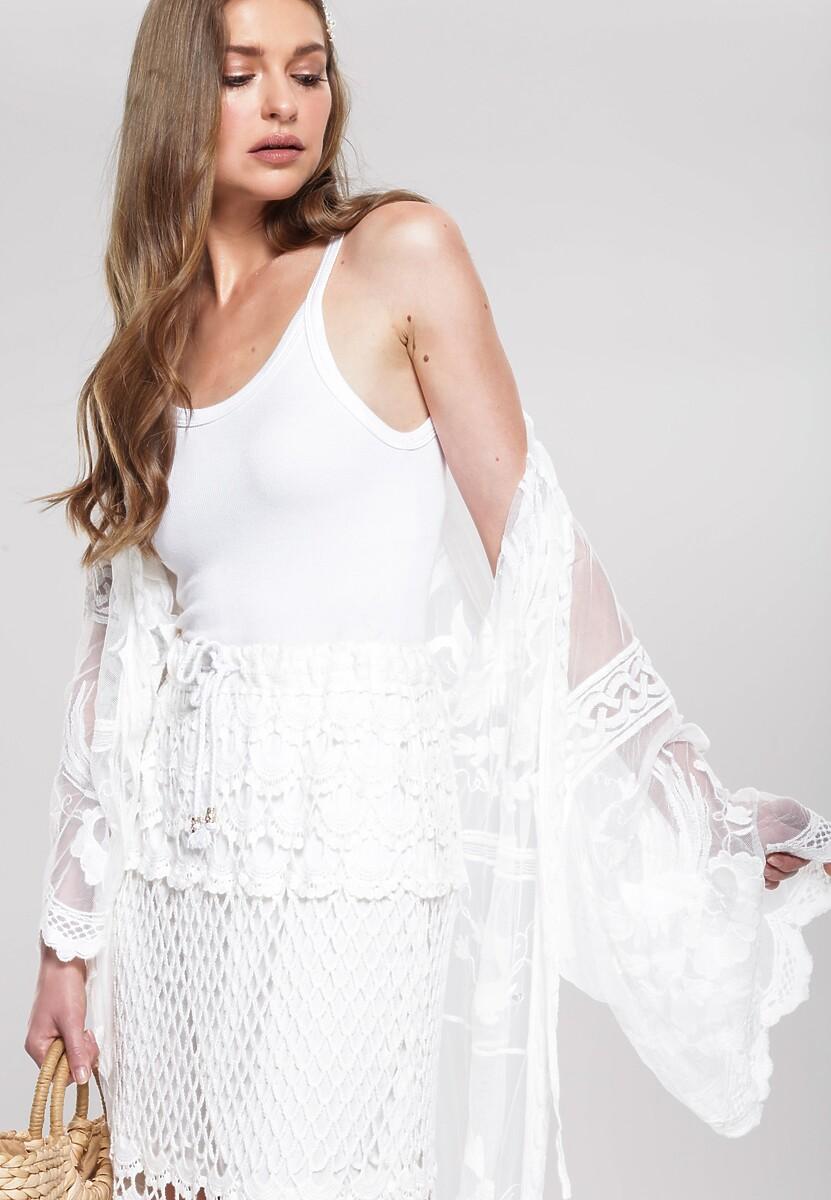 Biała Spódnica Dancehall