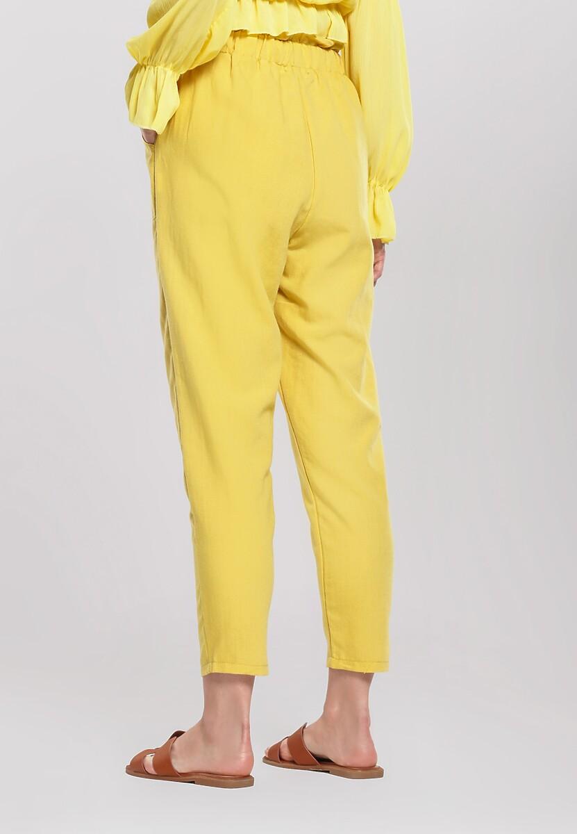 Żółte Spodnie Danceable