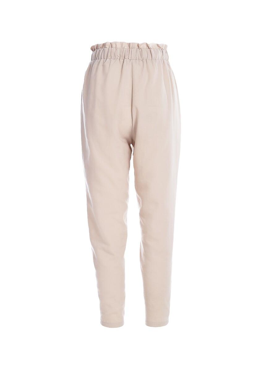 Beżowe Spodnie Danceable