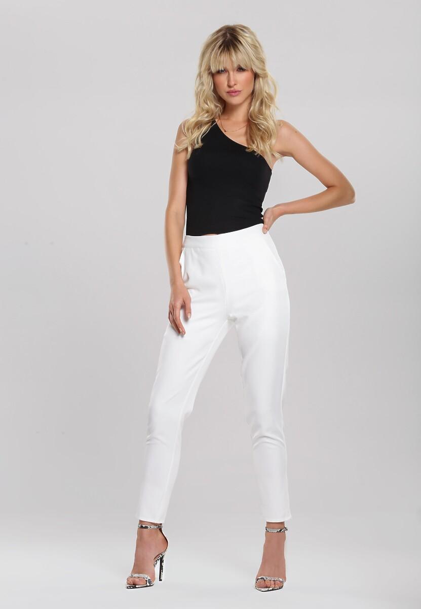 Białe Spodnie Infexibility