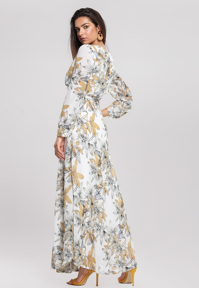 Biała Sukienka Beaming
