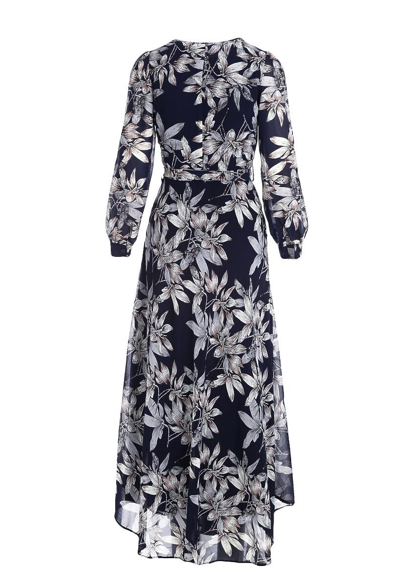 Granatowa Sukienka Beaming