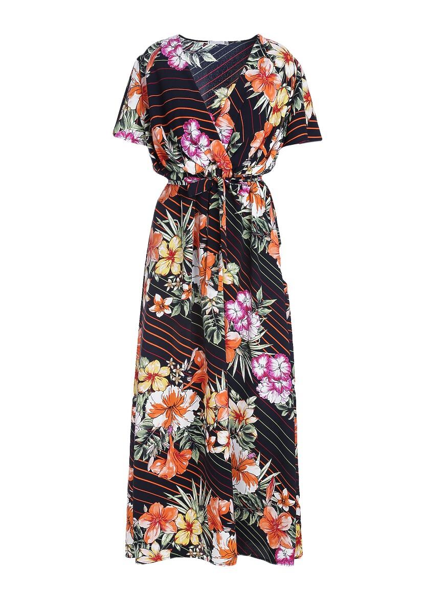 Granatowa Sukienka Whispered