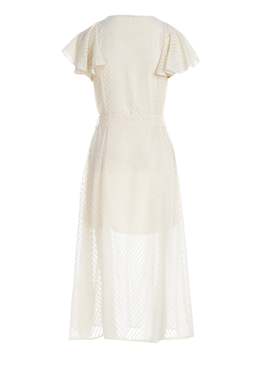 Jasnobeżowa Sukienka Righthood