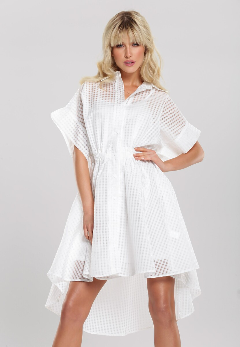 Biała Sukienka Disenfranchise