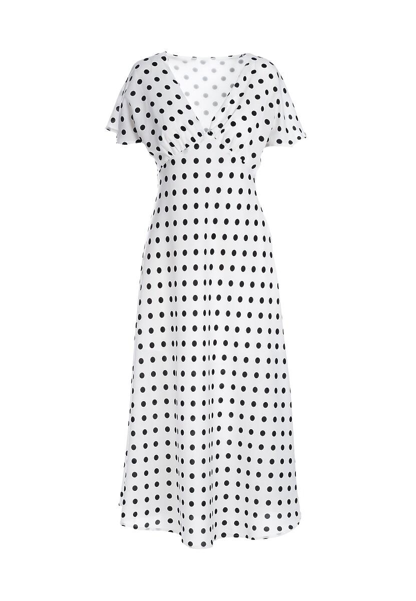 Biała Sukienka Brevity