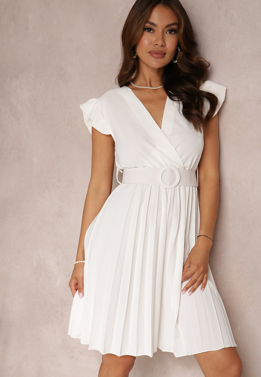 Biała Sukienka Gaffe