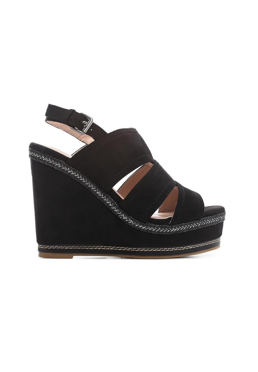 Czarne Sandały Shades Of Me