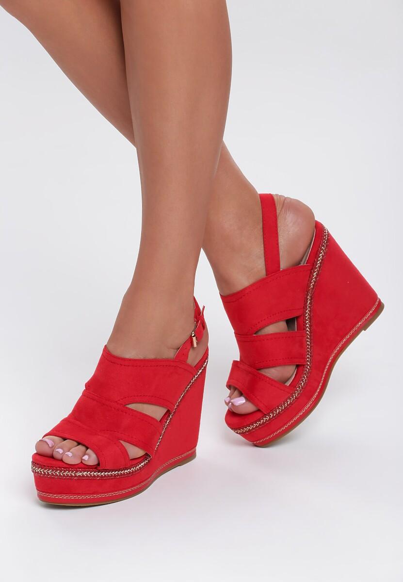 Czerwone Sandały Shades Of Me