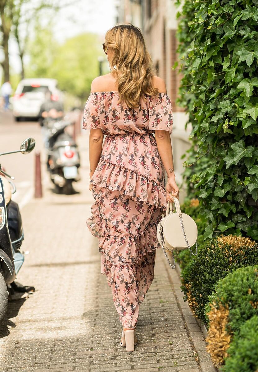 Ciemnoróżowa Sukienka Incursion