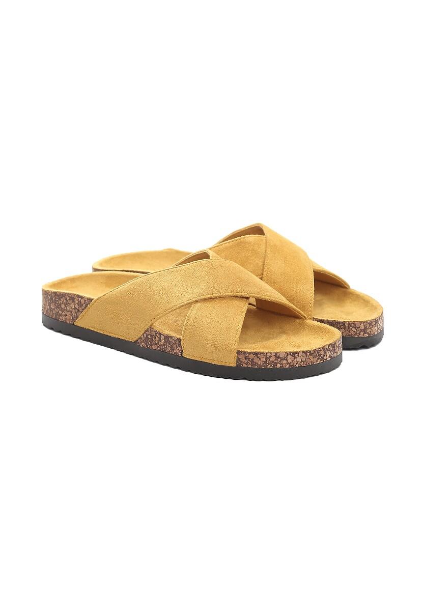Żółte Klapki Deplore