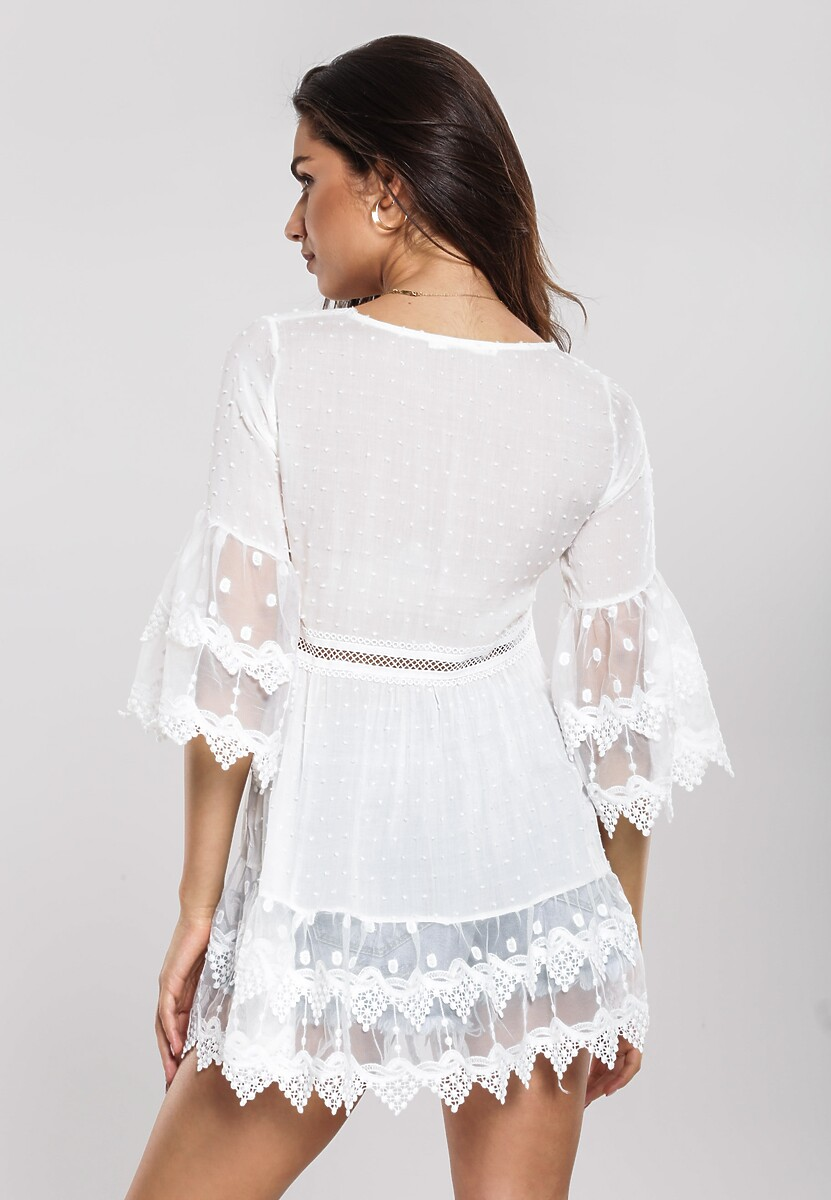 Biała Bluzka Inherent