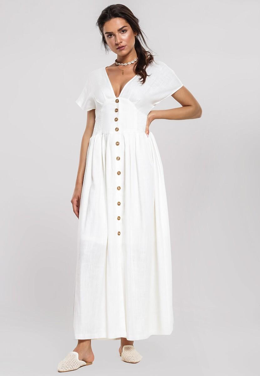 Biała Sukienka Perceptions Kod produktu: 99108