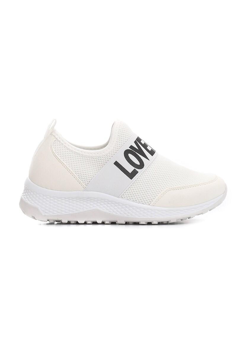 Białe Buty Sportowe Rile
