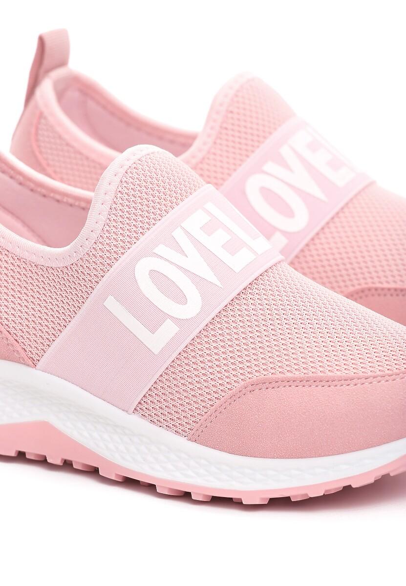 Różowe Buty Sportowe Rile